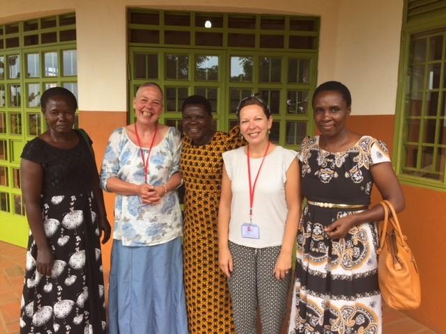 Susan Hamill and Liz Miller | GLP Uganda